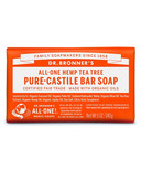 Dr. Bronner's Pure Castile Bar Soap Tea Tree
