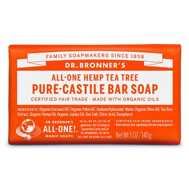 Dr. Bronner\'s Pure Castile Bar Soap Tea Tree