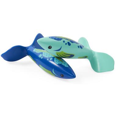 SwimWays Swirl Divers Pool Diving Toys, Sinking Fish-Shaped Swim Toys
