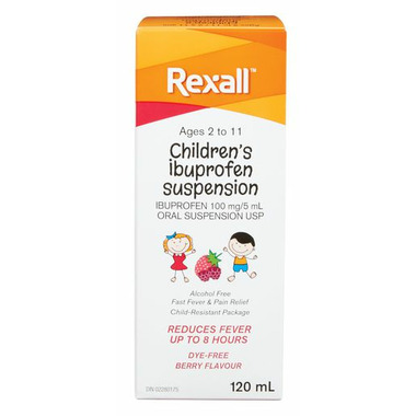 Rexall Children\'s Ibuprofen Suspension Liquid