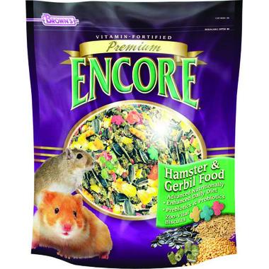 FM Browns Encore Premium Hamster & Gerbil Food