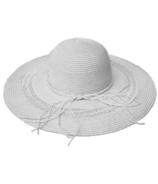 FITS Nautical Floppy Hat White