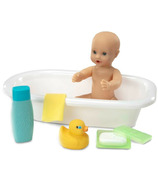 Melissa & Doug Mine to Love Baby Doll Bathtub and Accessories Set