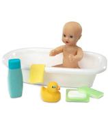 Melissa & Doug Mine to Love Ensemble baignoire et accessoires pour bébé poupée