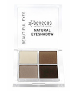 Benecos Natural Quattro Eyeshadow Coffee And Cream