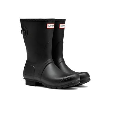 Hunter Boots Original Short Adjustable Black