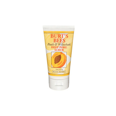 Burt\'s Bees Peach & Willowbark Deep Pore Scrub
