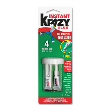 Elmer\'s Instant Krazy Glue Single Use Tubes