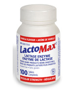 LactoMax Lactase Enzyme Regular Strength Vanilla Flavour