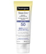 Neutrogena Sheer Zinc Suncreen Lotion Broad Spectrum SPF 50