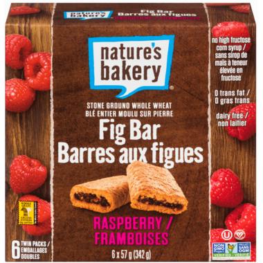 Nature\'s Bakery Whole Wheat Raspberry Fig Bars