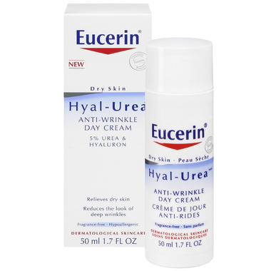 Eucerin Hyal-Urea Anti-Wrinke Day Cream with 5% Urea & Hyaluron