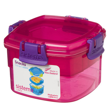 Sistema Snacks To Go Pink
