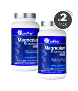 CanPrev Magnesium Bis-Glycinate 200 Gentle Bundle