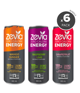 Zevia Zero Calorie Energy Drink Bundle