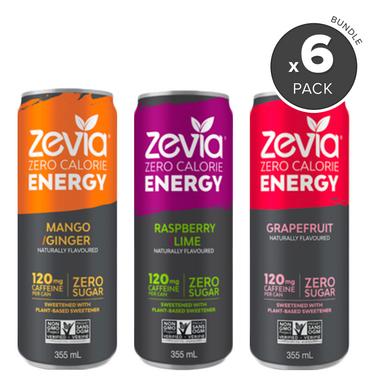 Zevia Zero Calorie Energy Drink Bundle