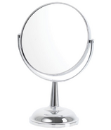 Danielle Creations Small Decorative Base Chrome Mirror