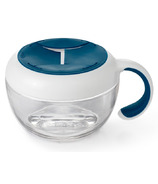 OXO Tot Flippy Snack Cup with Travel Cover Navy