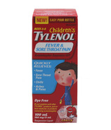 Tylenol Children's Fever & Sore Throat Pain Suspension Liquid