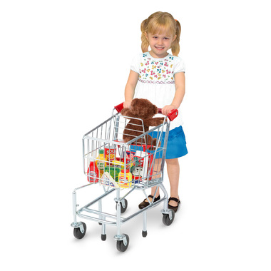 Melissa & Doug Kids Grocery Shopping Cart