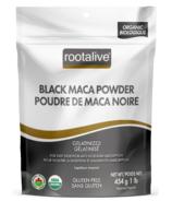 Rootalive Organic Gelatinized Black Maca Powder
