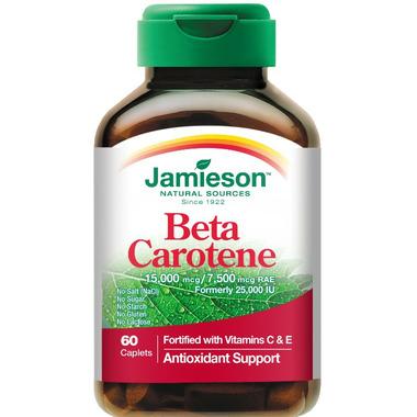 Jamieson Beta-Carotene with Vitamin C & E