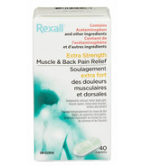 Rexall Extra Strength Muscle & Back Pain Relief