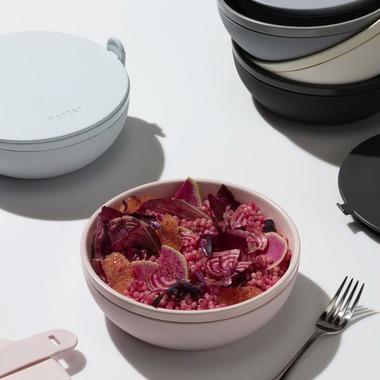 W&P Design Ceramic Porter Bowl Blush
