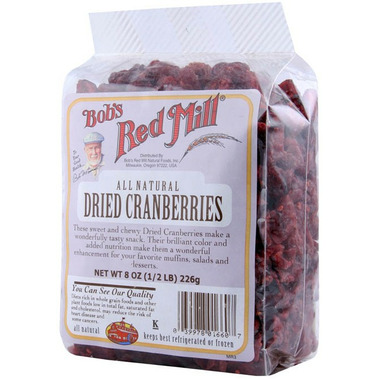 Bob\'s Red Mill Dried Cranberries