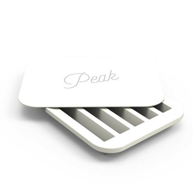 W&P Design Water Bottle Ice Tray White