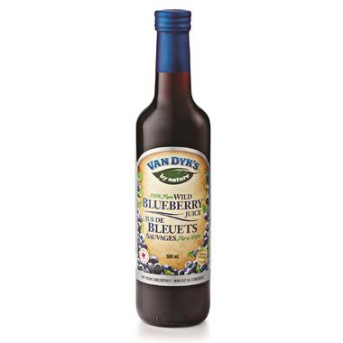 Van Dyk\'s Wild Blueberry Juice