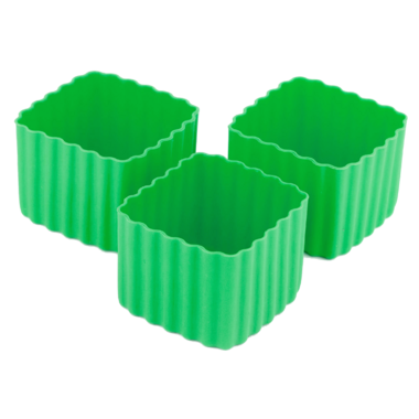 Little Lunch Box Co. Bento Cups Square Green