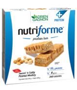 Adrien Gagnon Nutriforme Protein+ Bars Sweet N'Salty Peanut Medley