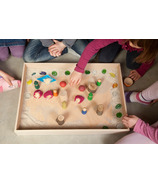 Grapat Wood Natural Free Play Box