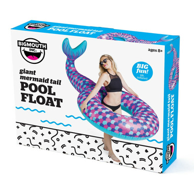 BigMouth Inc. Giant Mermaid Tail Pool Float