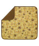 Envision Dish Drying Mat Honey Bee