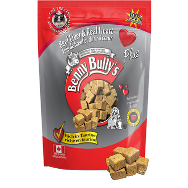 Benny Bully\'s Beef Liver Plus Beef Heart Cat Treats