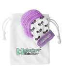 Malarkey Kids Munch Mitt Purple Shimmer Bows