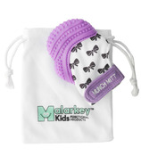 Malarkey Kids Munch Mitt Purple Shimmer Bows