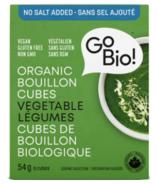 GoBIO! Organic No Salt Vegetable Bouillon Cubes