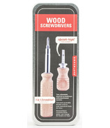 Kikkerland Screwdriver Tin Set
