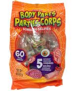 Halloween Gummy Body Parts 60 Pack