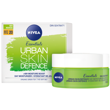 Nivea Essentials Urban Skin Defence Day Moisturizer with SPF20