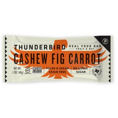 Thunderbird Real Food Bar Cashew Fig Carrot