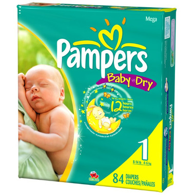 Pampers Baby Dry Mega Pack