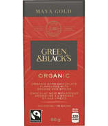 Green & Black's Organic Maya Gold Dark Chocolate with Orange and Spices