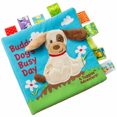 Taggies Mary Meyers Buddy Dog Soft Book
