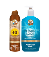 Australian Gold SPF 30 Spray Sunscreen & Tan Extender Bundle
