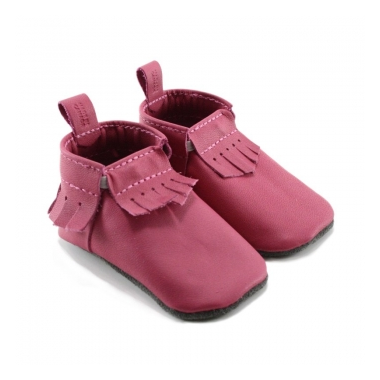 Mally Designs Fuchsia Mally Mocs