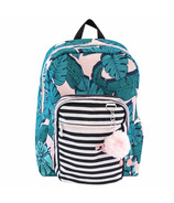 Yoobi Backpack Palm Flamingo